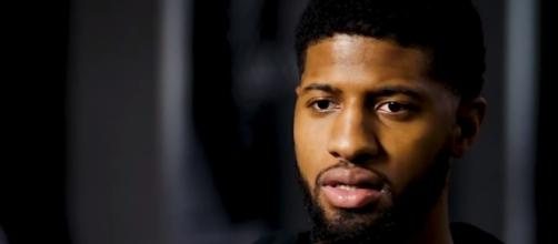 Paul George interview. - [ESPN / YouTube screencap]