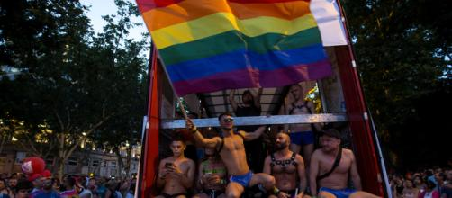 BARCELONA / Personas refugiadas LGTBI se manifiestan en el Orgullo 2018