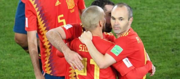 Andres Iniesta a dit adieu à la sélection nationale après la défaite contre la Russie.