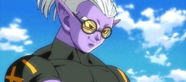 "Dragon Ball Heroes villain ""Fu."" [image source: Kame Style/YouTube screenshot]"