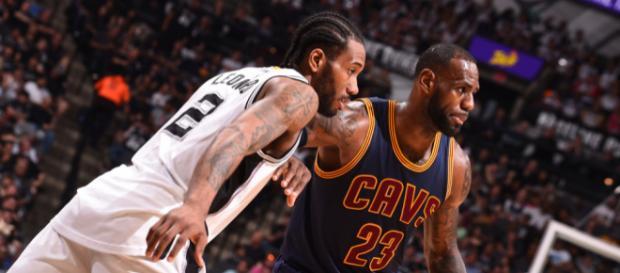 Kawhi may team up with Bron - (Image: YouTube/NBA)