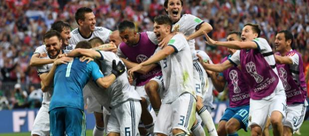 La Russie a tenu jusqu'aux tirs au buts face à une Espagne inoffensive