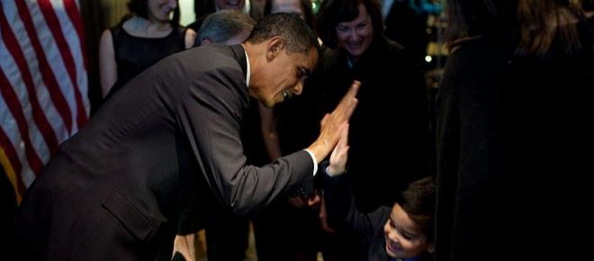 Barack Obama advises Democrats at a DNC fundraiser in Beverly Hills to vote