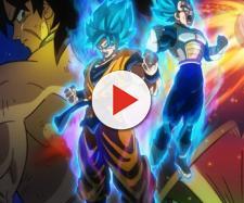Das offizielle Poster zum Film zeigt Broly hinter Son Goku und Vegeta - kotaku.com