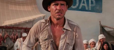 Actor Harrison Ford is expected to reprise his role as Indiana Jones in a fifth installment in the series. - [MovieClips / YouTube screencap]