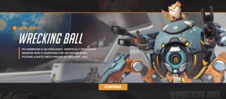 Hammond is the 28th heroe joining the roster of 'Overwatch' [Image Credit: Polygon/YouTube]
