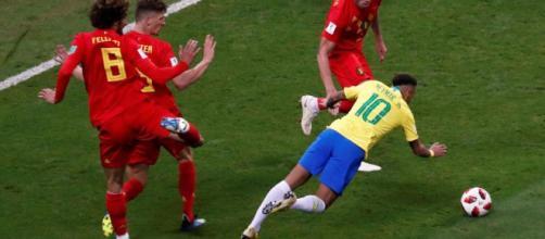 Belgium Vs France live streaming on sony Liv (Image FIFA2018/Twitter)