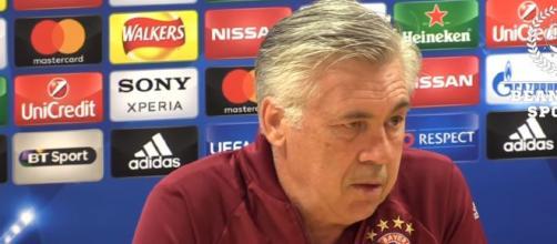 Carlo Ancelotti: nuovo allenatore del Napoli.
