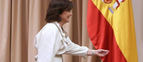 Carmen Calvo propone reformas en las leyes para violencia sexista