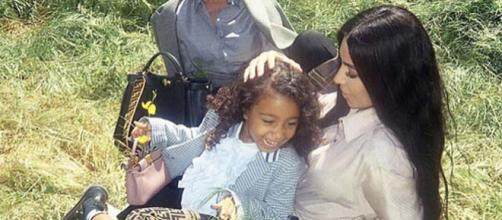 Kim Kardashian and Kanye West's daughter North West just scored her first Fendi campaign. [Image @_north.west_/Instagram]