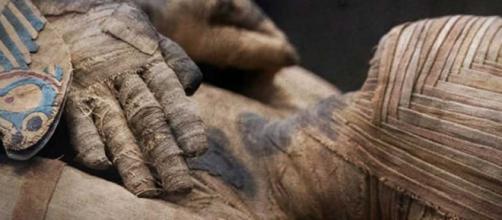 TURQUÍA / La momia de dos cabezas se exhibe al público por primera vez en 100 años