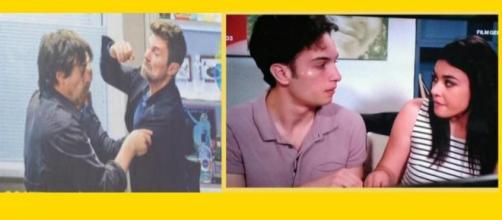 Valerio picchia Andrea, Rossella e Patrizio tornano insieme: un posto al sole