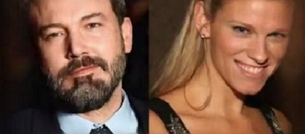 Ben Affleck, Lindsay Shookus to marry in Hawaii. - [Audio Mass Media Reviews / YouTube screencap]