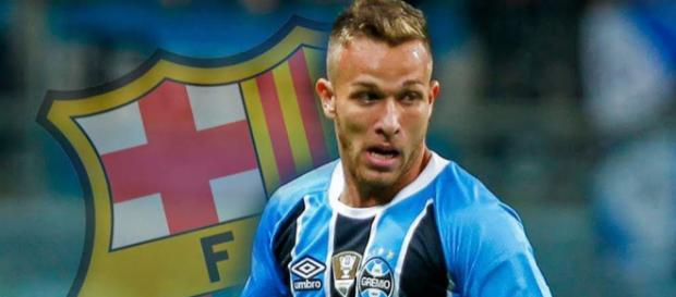 Arthur Melo ya es jugador del Barcelona
