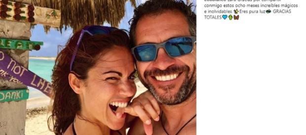 Edu Blanco hace publica su relación con Lara Álvarez a través de Instagram