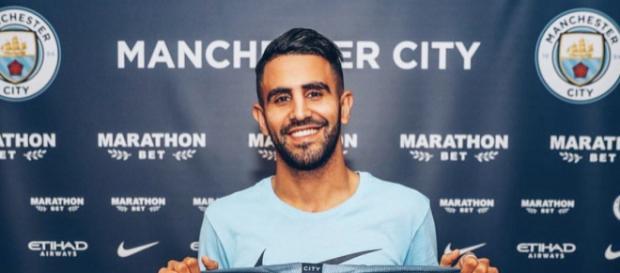 Mahrez a signé chez le champion d'Angleterre