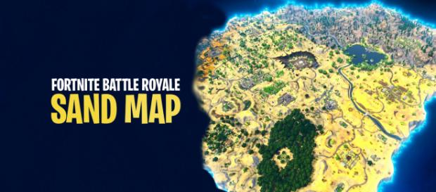 Sand map has been revealed. [Image Credit: Asmir Pekmic/Author]