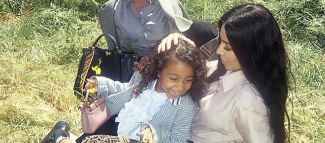 Kim Kardashian's daughter North West makes her modelling debut with Fendi