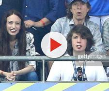 É comum ver o roqueiro acompanhado do filho em jogos de Copa