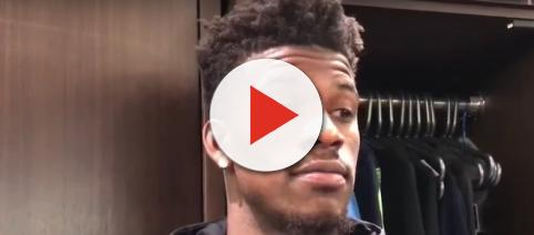 Minnesota Timberwolves star Jimmy Butler raised eyebrows with his recent Instagram activity. [Image via ESPN/YouTube]