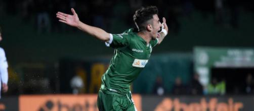 Asencio Moraes Raul José con la maglia dell'Avellino