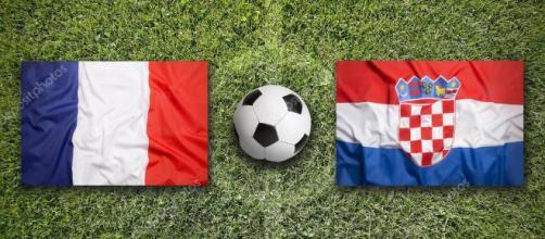 Francia vs Croazia: finale mondiali di calcio 2018— Foto Stock © kb ... - depositphotos.com