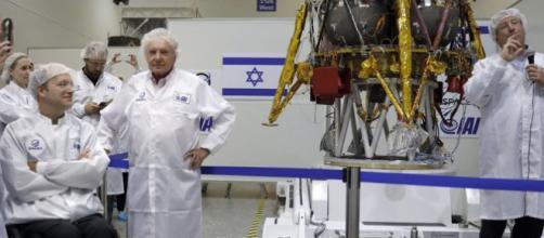 La primera nave espacial no tripulada israelí aterrizará en la Luna en el 2019