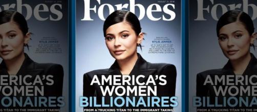 Kylie Jenner es considerada la mujer multimillonaria más joven según Forbes