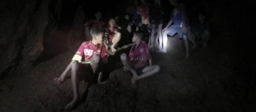 TAILANDIA / Gobierno presenta las primeras imágenes de los niños rescatados de la cueva