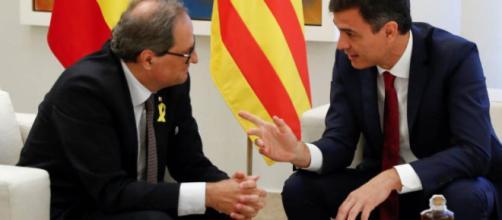 Torra asegura que no cesó de defender los resultados del 1-O en el diálogo con Sánchez