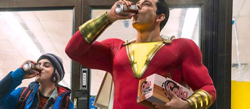 Warner Bros. will showcase the first trailer of the live-action 'Shazam' movie at SDCC 2018. - [Emergency Awesome / YouTube screencap]