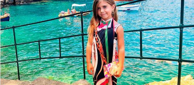 ITALIA / Kourtney Kardashian celebró el cumpleaños de su hija Penélope
