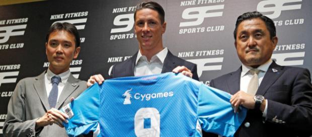 Fernando Torres firma con el Sagan Tosu de Japón