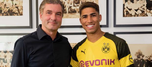 El Real Madrid confirma la cesión de Achraf Hakimi al Borussia de Dortmund