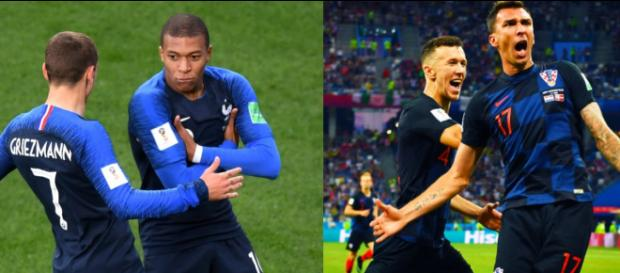 Griezmann, Mbappé, Perisic e Mandzukic: protagonisti di Francia-Croazia, finale di Coppa del Mondo