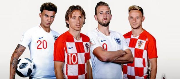 Inglaterra contra Croacia será la segunda semifinal en la Copa del Mundo este miércoles