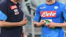 Sarri e Jorginho pronti alla nuova avventura al Chelsea: manca solo l'ufficialità