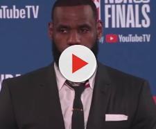 Lakers star LeBron James is starting to hang out with the A-listers in Hollywood. - [ESPN / YouTube screencap]