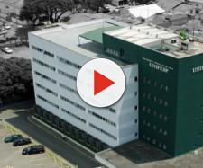 Prédio da Universidade Federal de São Paulo. Instituição de ensino paralisa 21 projetos por falta de verbas. Reprodução Facebook/divulgação