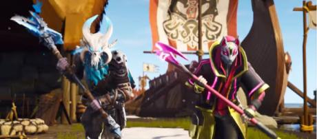 These are just two of the new skins in 'Fortnite's' Season 5. - [Image source: Fortnite/YouTube]