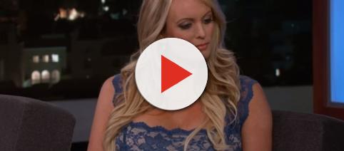 Stormy Daniles arrested in Ohio - Image credit - Jimmy Kimmel Live   YouTube