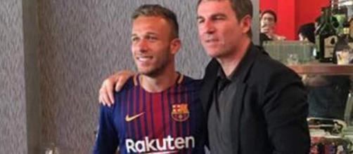 Fichajes: el FC Barcelona presenta en sociedad a Arthur Melo