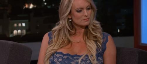 Stormy Daniles arrested in Ohio - Image credit - Jimmy Kimmel Live | YouTube