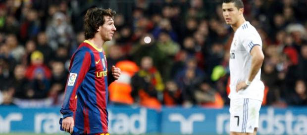 Fim da rivalidade: Cristiano Ronaldo e Messi em ligas separadas. [Imagem via Flickr/Creative Commons]