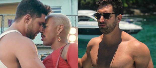 Jonathan Dobal beijou Nego do Borel em clipe (Crédito: Reprodução/Instagram)