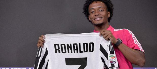 Juventus: Juan Guillermo Cuadrado le cede el dorsal siete a Cristiano Ronaldo