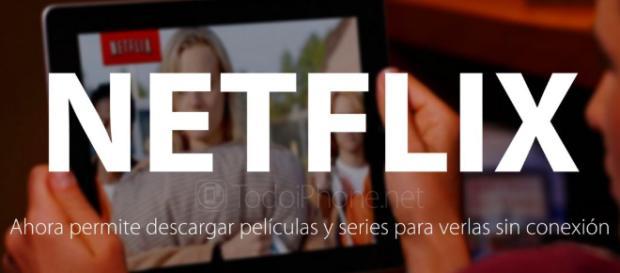 Netflix permite descargar películas y series en forma automática al celular con Wifi