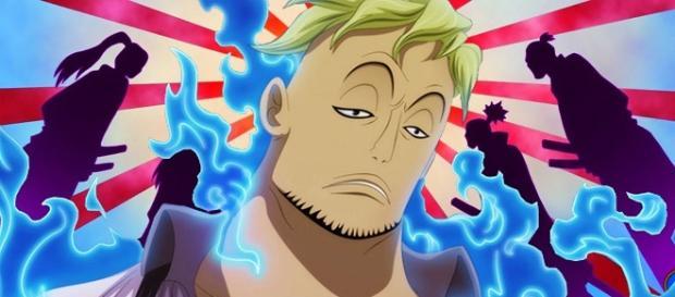One Piece: Una vasallo de la facción Kozuki es ofrecida en la zona sombría de la ciudad