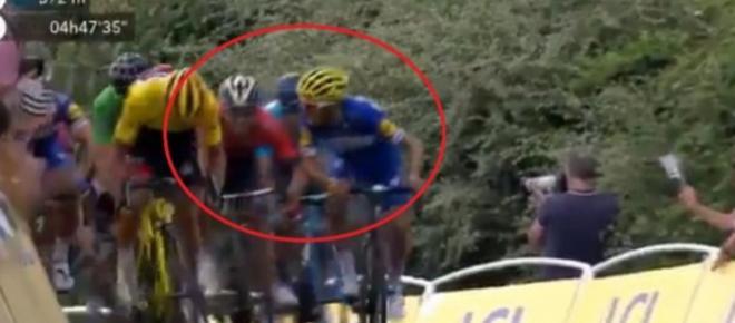 Tour de France, tensione tra Alaphilippe e Colbrelli