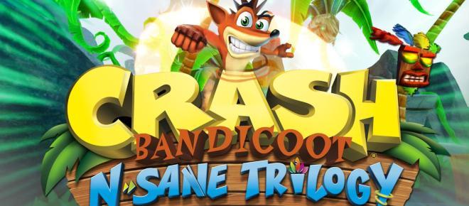 Crash Bandicoot N. Sane Trilogy disponibile per Xbox One e Nintendo Switch